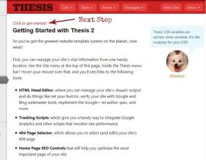 Thesis 2.0 Setup