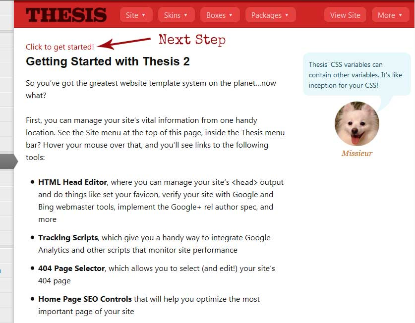 Thesis: A Modular Template and Design System for WordPress